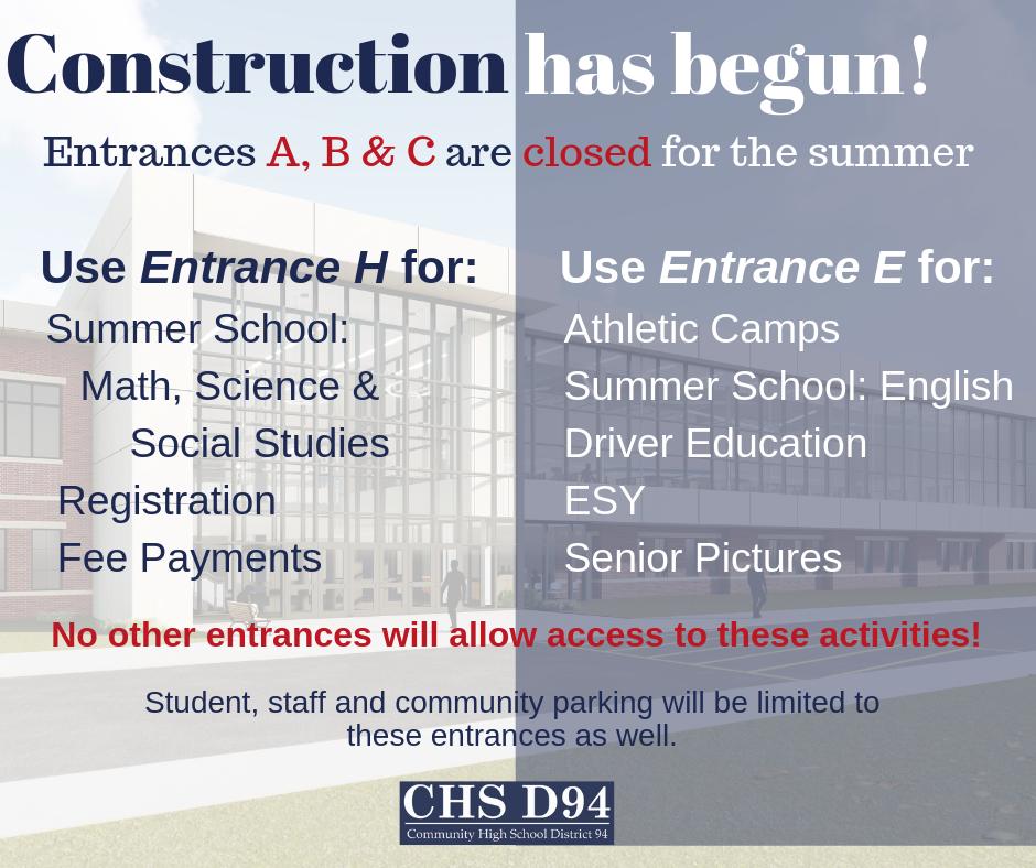 Community High School District 94 / Homepage