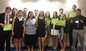 WCCHS Future Business Leaders Place at State Conference