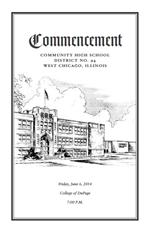 Commencement Program - Congratulations to the Class of 2014!