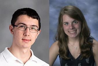 Ethan Cuka and Shelley Parat Named Commended Students