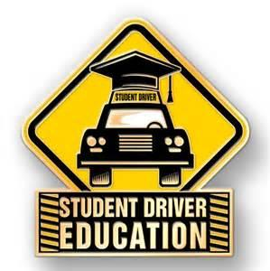 Driver's education symbol