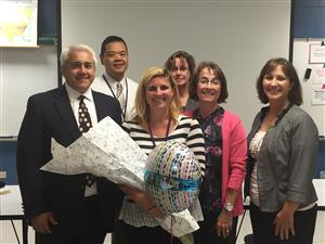 Teacher Candace Fikis Recognized as Outstanding Educator