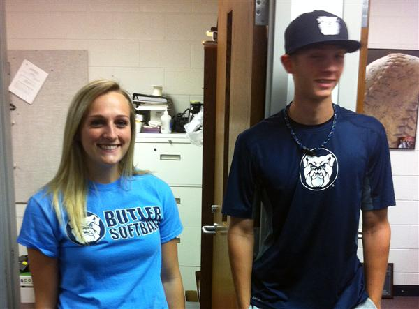 Jenna Foreman and Connor Dall Sign with Butler University