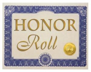 2nd Semester Honor Roll Announced