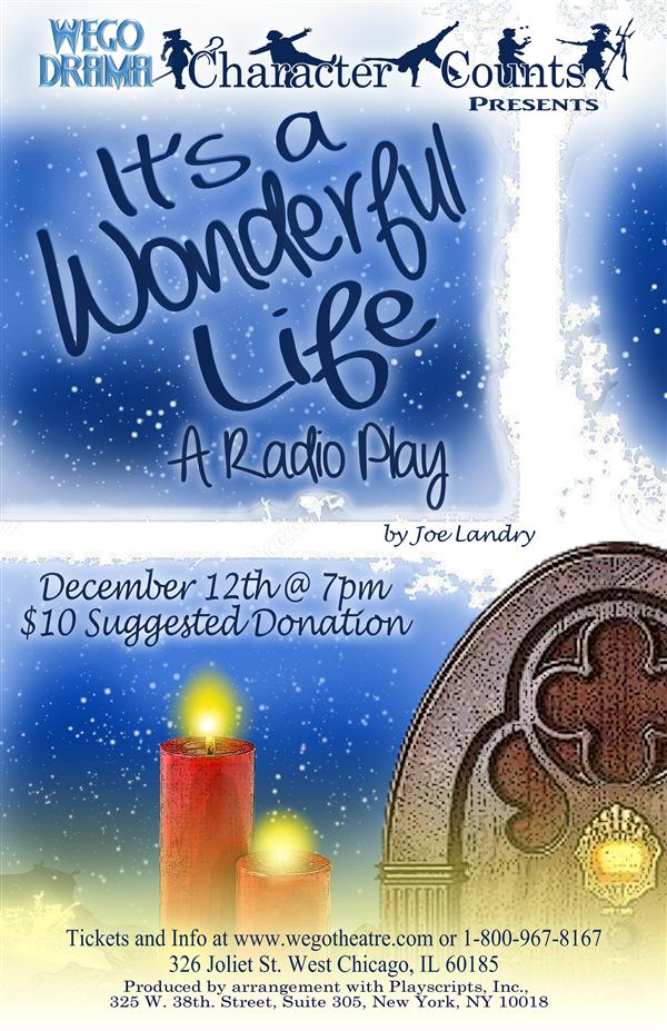 """It's A Wonderful Life"" radio play performed  one night only"