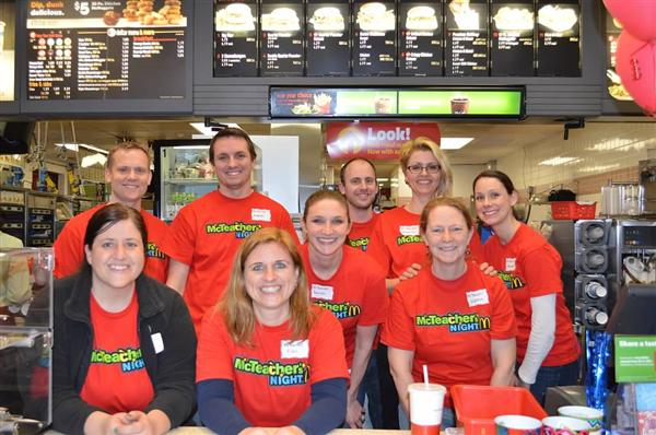 McTeacher Night a Success!