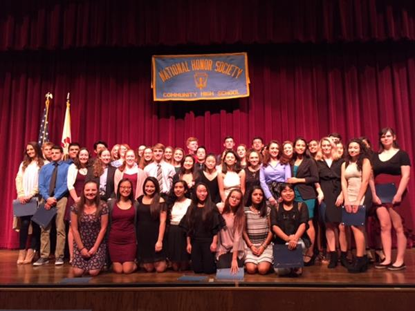 National Honor Society 2017 Inductees