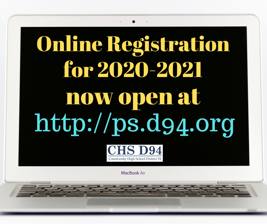 Online Registration for 2020-2021 Now Open