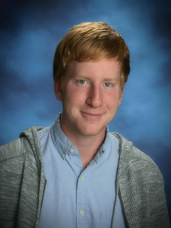 Patrick McCormack is November Student of the Month