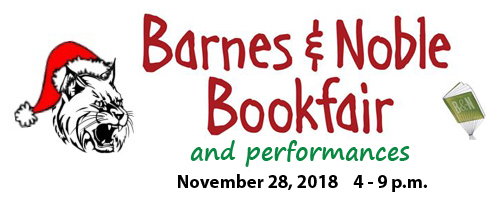 Barnes & Noble Bookfair and Performances graphic