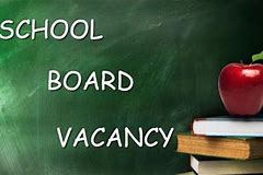 Seeking Applicants for Board of Education Vacancy