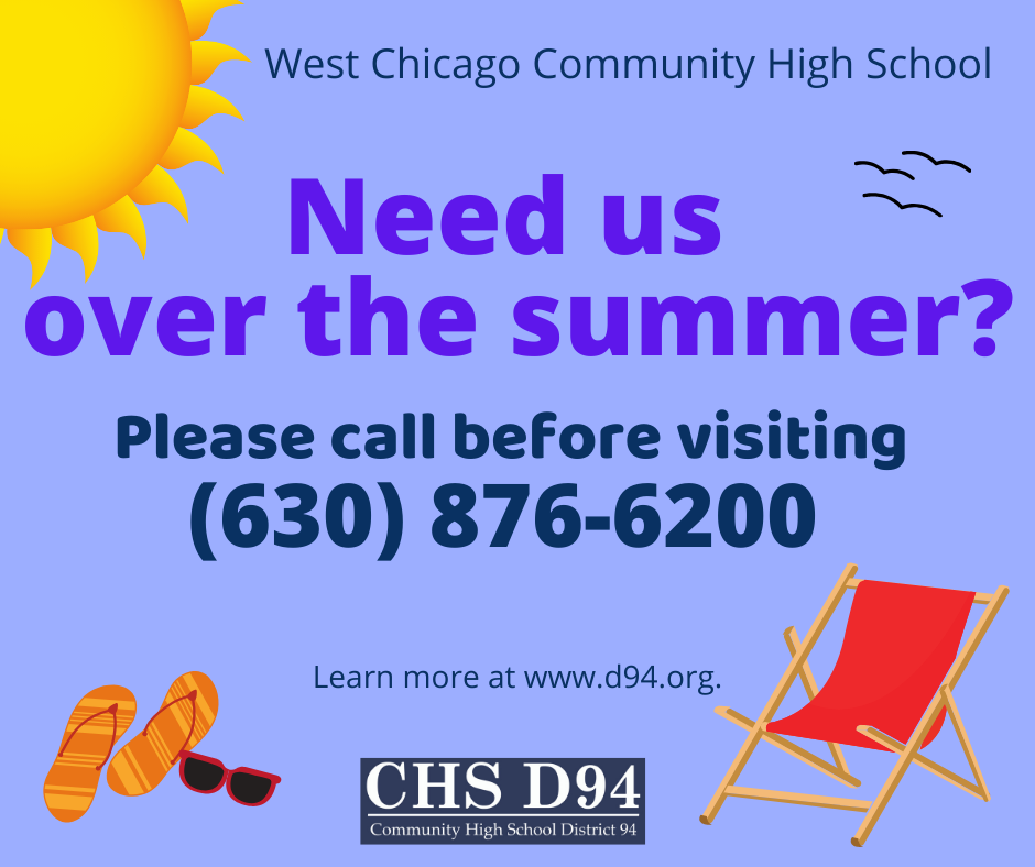 This summer, call before visiting!