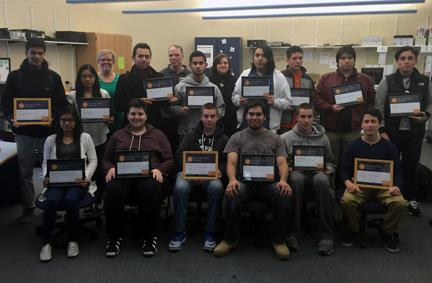TSI Students Earn Microsoft Certification