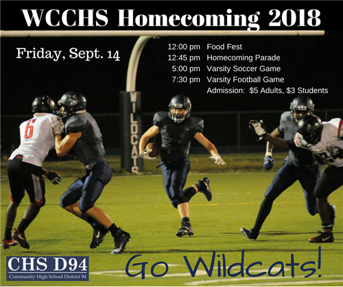 2018 Homecoming Sept. 14