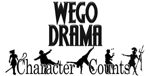 Wego Drama Announces 2015-16 Season: Character Counts!