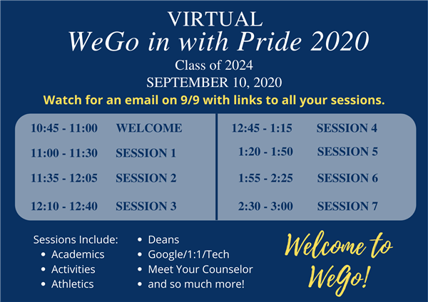 Virtual WeGo in with Pride