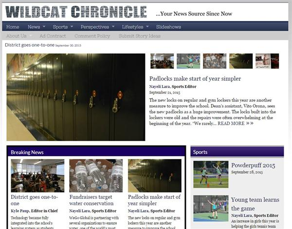Wildcat Chronicle Online Debuts