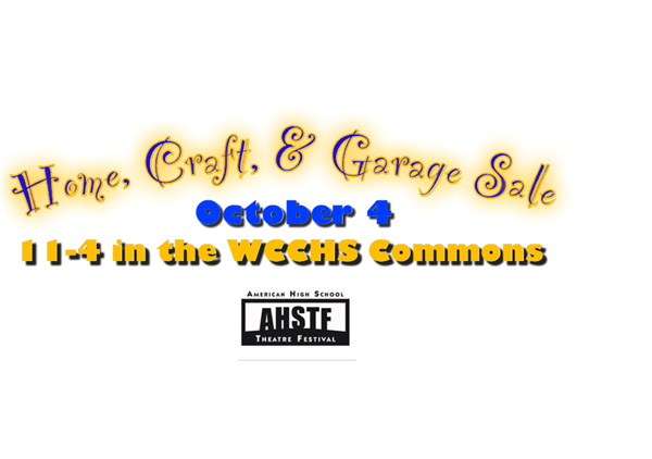 Home & Craft Fair/Indoor Garage Sale October 4