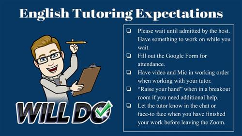 English Tutoring Expectations